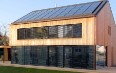 solarthermie und pelletheizung sch ner wohnen. Black Bedroom Furniture Sets. Home Design Ideas