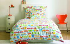 bettw sche eisenbahn des labels bygraziela sch ner wohnen. Black Bedroom Furniture Sets. Home Design Ideas