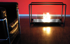 bioethanol kamin floor flame iii von radius design sch ner wohnen. Black Bedroom Furniture Sets. Home Design Ideas