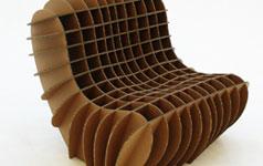 Sessel Cardboard Lounge Aus Karton Schöner Wohnen