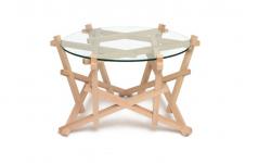 Beistelltisch burr puzzle table von petar zaharinov sch ner wohnen - Balances online roset ...