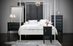 himmelbett edland bei ikea sch ner wohnen. Black Bedroom Furniture Sets. Home Design Ideas