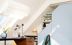 die dachschräge - möbel und farbe für schräge dächer - [schÖner ... - Wohnideen Schrgen Wnden