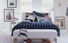 maritimer einrichtungsstil - möbel wie am meer - [schÖner wohnen] - Wandgestaltung Schlafzimmer Maritim