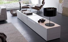 sideboard mit gro er klappe news sch ner wohnen. Black Bedroom Furniture Sets. Home Design Ideas
