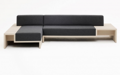 sofa mit integriertem tisch sch ner wohnen. Black Bedroom Furniture Sets. Home Design Ideas