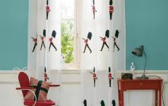 gardinen mit viel humor tipp des tages sch ner wohnen. Black Bedroom Furniture Sets. Home Design Ideas