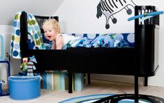 kinderzimmer sch ner wohnen. Black Bedroom Furniture Sets. Home Design Ideas