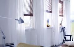 fensterdekoration sch ner wohnen. Black Bedroom Furniture Sets. Home Design Ideas