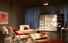 roche bobois er ffnet showroom in hamburg sch ner wohnen. Black Bedroom Furniture Sets. Home Design Ideas