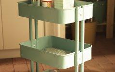 servierwagen r skog in rustikalem industrie look. Black Bedroom Furniture Sets. Home Design Ideas
