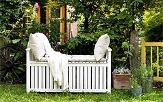 pin gartenm bel f r drau en wohnzimmer im gr nen on pinterest. Black Bedroom Furniture Sets. Home Design Ideas