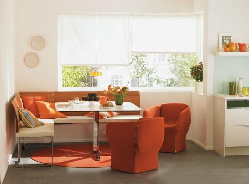 viel platz f r geselligkeit in der k che bietet die. Black Bedroom Furniture Sets. Home Design Ideas