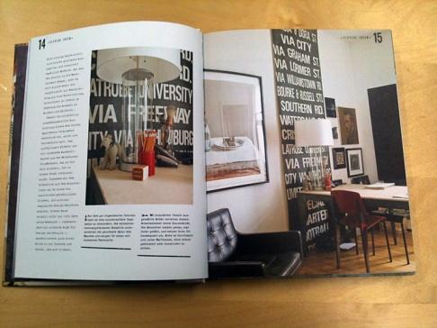 buchtipp kreative w nde tipp des tages sch ner wohnen. Black Bedroom Furniture Sets. Home Design Ideas