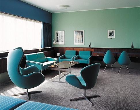 Längst ein Klassiker: Arne Jacobsens SAS-Hotel.