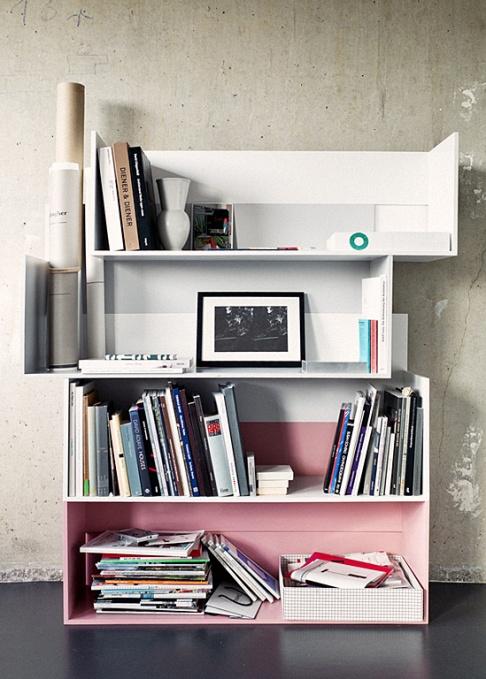 regal shift aus beweglichen boards news sch ner wohnen. Black Bedroom Furniture Sets. Home Design Ideas