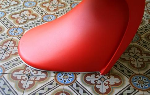 neue gleiter f r den panton chair tipp des tages sch ner wohnen. Black Bedroom Furniture Sets. Home Design Ideas
