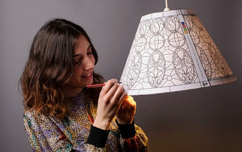 t 1895 die tiffany leuchte zum selberbasteln sch ner. Black Bedroom Furniture Sets. Home Design Ideas