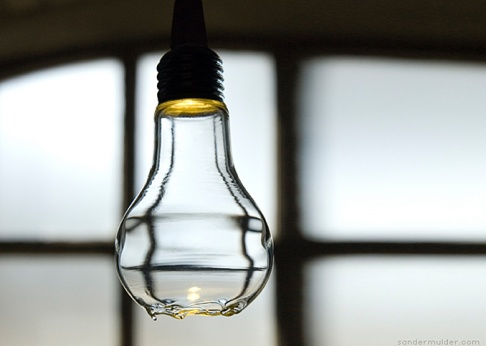 ceci n est pas une lampe mit versteckten led im sockel sch ner wohnen. Black Bedroom Furniture Sets. Home Design Ideas