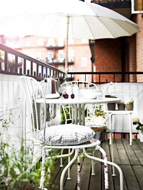 """Balkonmöbel """"Lackö"""" von Ikea"""
