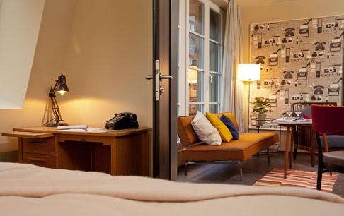 hamburger hotel henri im stil der 60er jahre tipp des. Black Bedroom Furniture Sets. Home Design Ideas