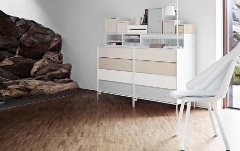 montana mit sekret r in pastellt nen sch ner wohnen. Black Bedroom Furniture Sets. Home Design Ideas