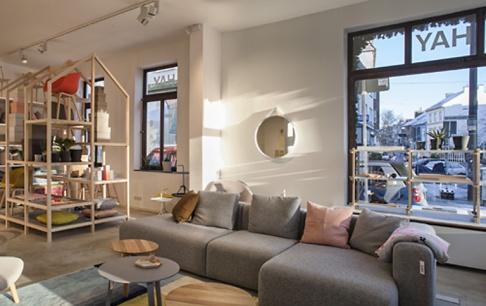 hay mit neuem showroom in bremen sch ner wohnen. Black Bedroom Furniture Sets. Home Design Ideas