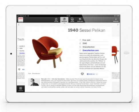 sch ner wohnen klassiker app f rs ipad sch ner wohnen. Black Bedroom Furniture Sets. Home Design Ideas