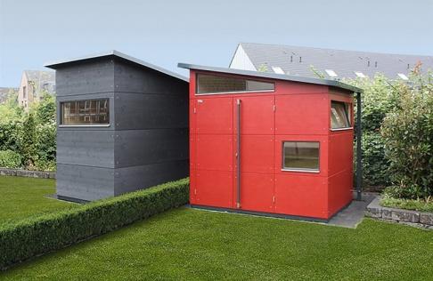 gartenhaus aus holz metall als modulhaus oder zum selberbauen sch ner wohnen. Black Bedroom Furniture Sets. Home Design Ideas