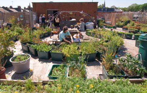Urban Gardening - Gemeinschaftsgärten In Der Stadt - [schÖner Wohnen] Gemusegarten Auf Dem Dach