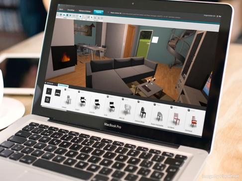 3d raumplaner online einrichten sch ner wohnen. Black Bedroom Furniture Sets. Home Design Ideas