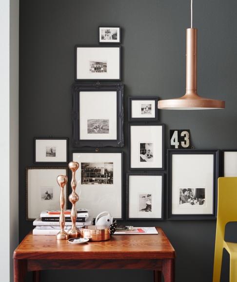 Fotos In Szene Setzen fotowand ideen zum gestalten schöner wohnen
