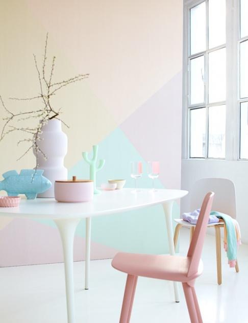 Pastellfarben so richten sie mit pastellt nen ein sch ner wohnen - Zimmer ausmalen farben ...