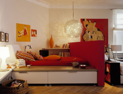 de.pumpink | orange küche welche wandfarbe, Wohnzimmer