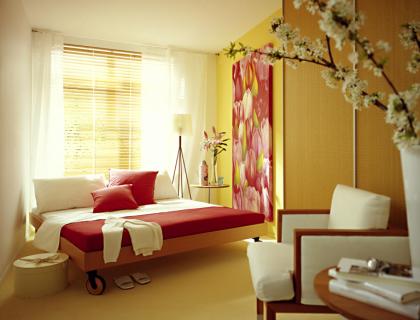 Eine kleine Kammer wird zum traumhaften Schlafzimmer - [SCHÖNER ...