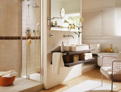 gro es badezimmer wird wohnlich badezimmer sch ner wohnen. Black Bedroom Furniture Sets. Home Design Ideas