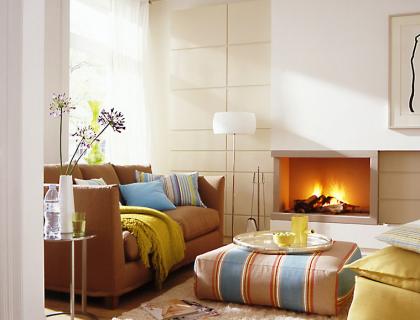 zwei kleine r ume kommen gro raus wohnzimmer sch ner wohnen. Black Bedroom Furniture Sets. Home Design Ideas