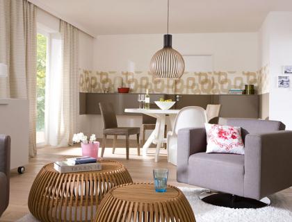 Kleines Wohnzimmer Mit Esstisch Einrichten Vorher Nachher Mehr Atmosphre Fr Wohn Und Esszimmer Schner