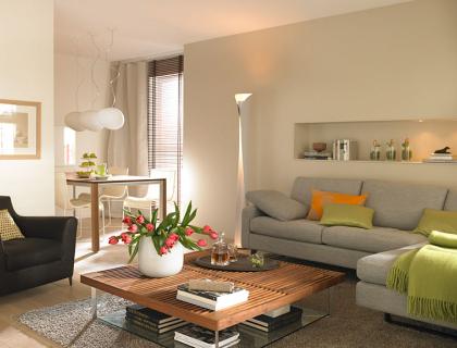 vorher nachher neue harmonie f r wohn und esszimmer sch ner wohnen. Black Bedroom Furniture Sets. Home Design Ideas