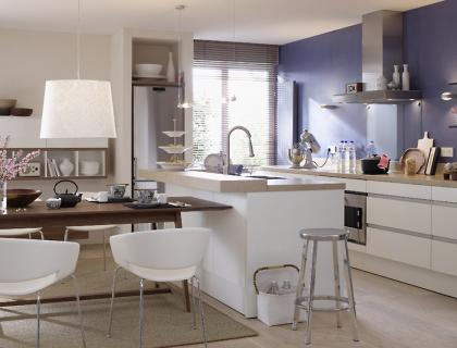 vorher nachher kochnische wird wohn k che sch ner wohnen. Black Bedroom Furniture Sets. Home Design Ideas