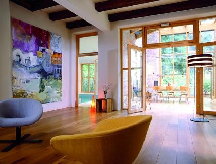 datscha als einfamilienhaus sch ner wohnen. Black Bedroom Furniture Sets. Home Design Ideas
