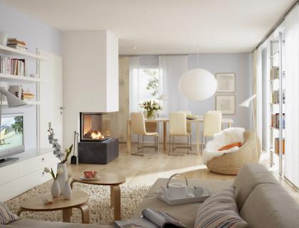 dunkles wohnzimmer wird einladend und hell sch ner wohnen. Black Bedroom Furniture Sets. Home Design Ideas