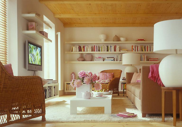 mediterranes wohnzimmer wohnzimmer sch ner wohnen. Black Bedroom Furniture Sets. Home Design Ideas