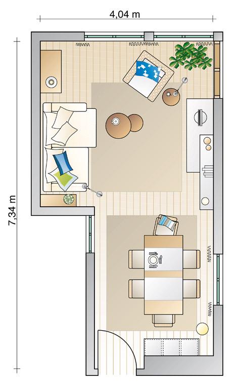 wohn und esszimmer optisch trennen beste von zuhause design ideen. Black Bedroom Furniture Sets. Home Design Ideas