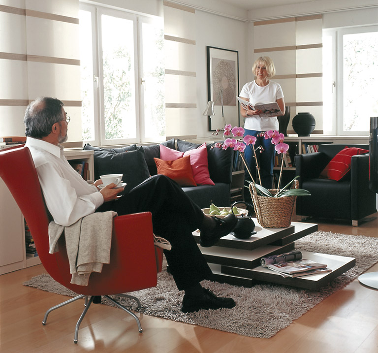 des r tsels l sung wohnzimmer sch ner wohnen. Black Bedroom Furniture Sets. Home Design Ideas