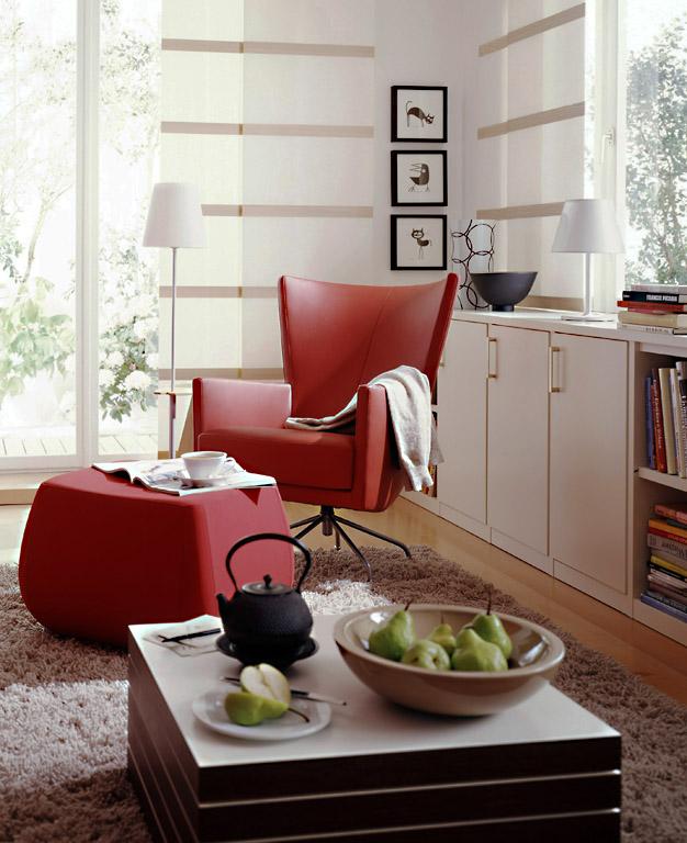 harmonisches gesamtbild im multimedia wohnzimmer. Black Bedroom Furniture Sets. Home Design Ideas