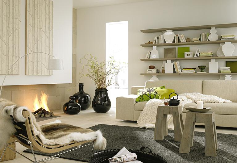 Fotostrecke moderne trifft bodenst ndigkeit bild 6 sch ner wohnen - Wandteller modern ...