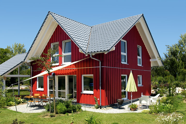 Landhausstil haus  Häuser im modernen Landhausstil - [SCHÖNER WOHNEN]