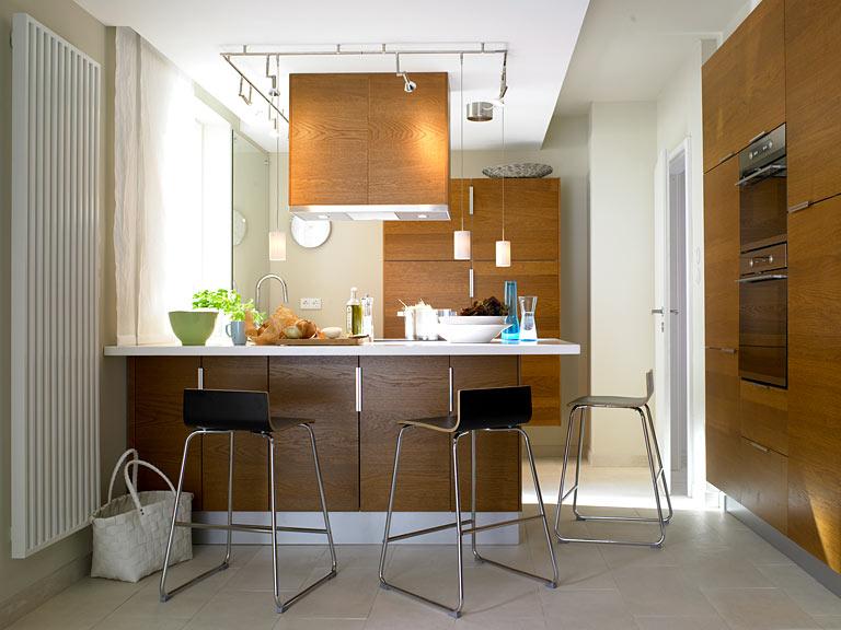 Барная стойка на кухне - 130 идей для романтиков фото.