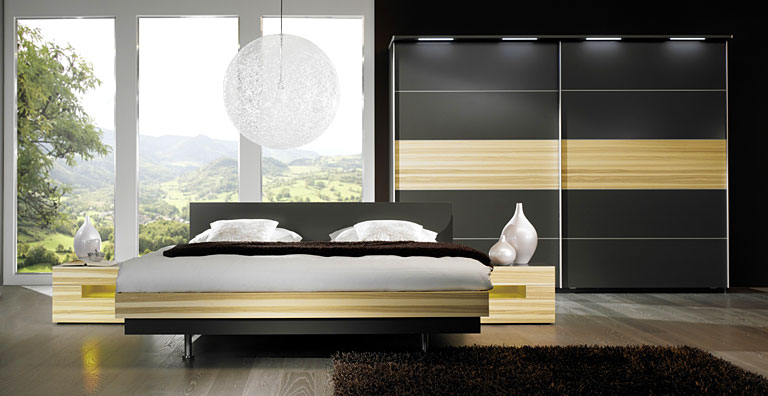 nat rlich sch n schlafzimmer f r puristen bild 6 sch ner wohnen. Black Bedroom Furniture Sets. Home Design Ideas